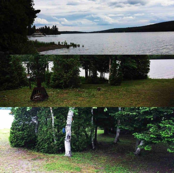 Chalet Un 🌲 Accès direct au Lac et Gazebo