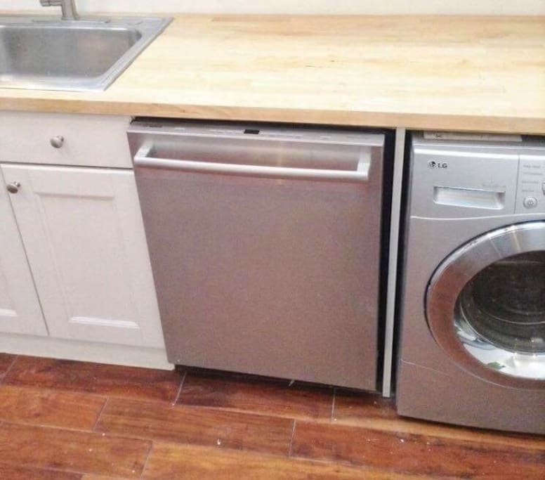 Dishwasher and Washer/Dryer