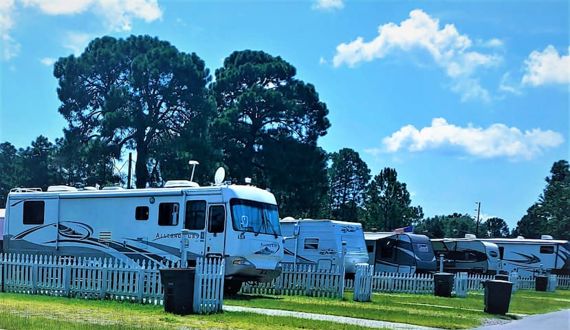 Large RV space for rent!