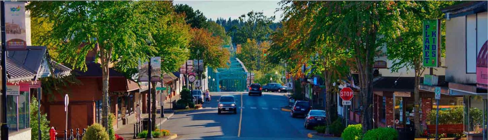 Stay downtown in the heart of the Comoxvalley !