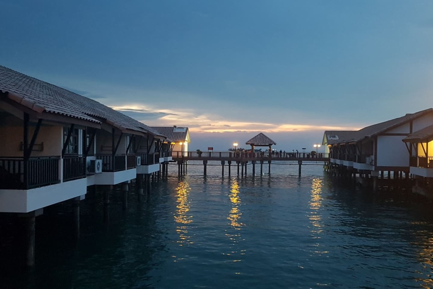Sunset @ Water Chalet