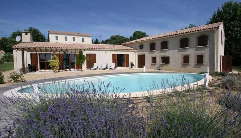 Large Villa with Pool, Minervois , Carcassone