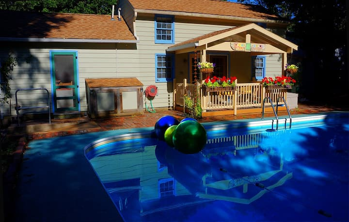 Carbondale Pool House - Sauna, Hot Tub, Dogs OK