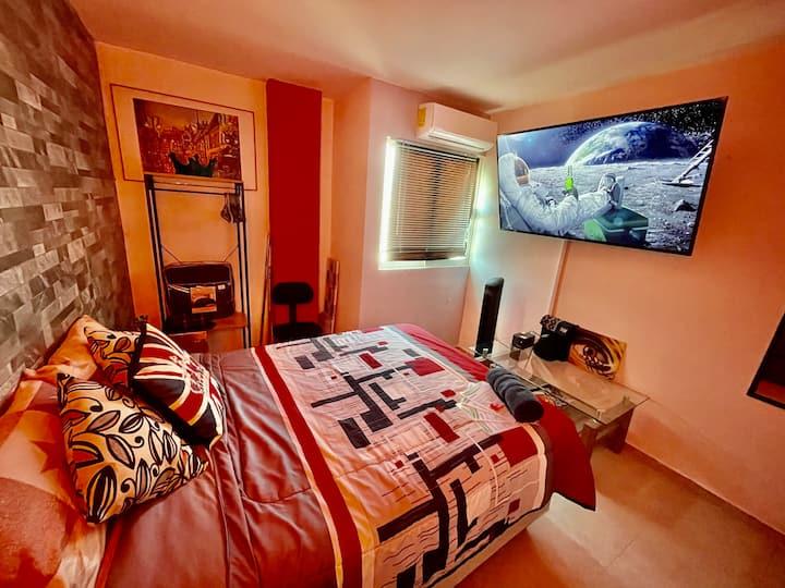 Suite/cuarto para Negocios 2- P. NWK¡Gran confort!