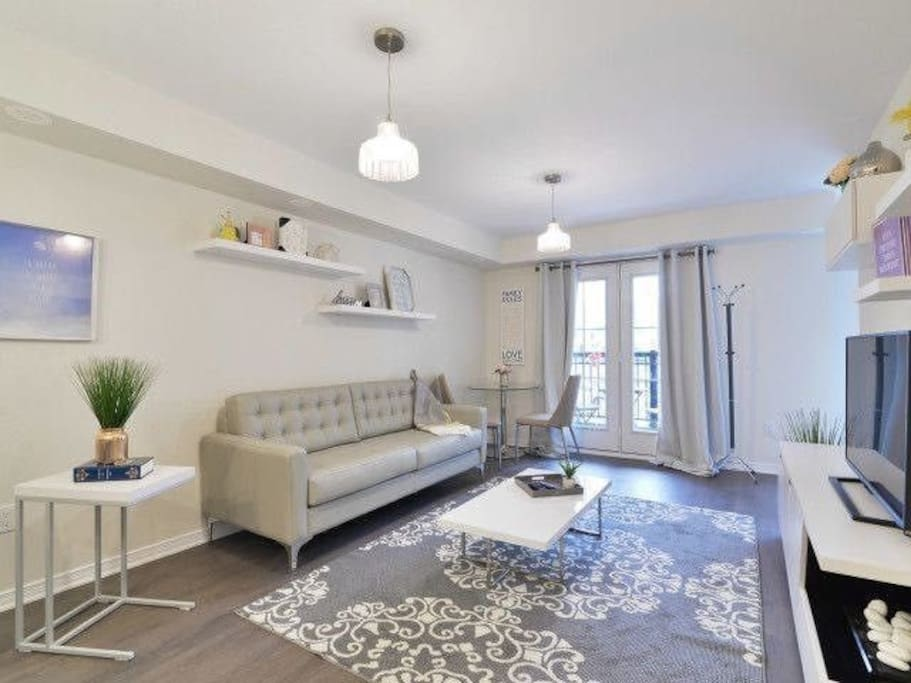 Another view of the luxurious living room