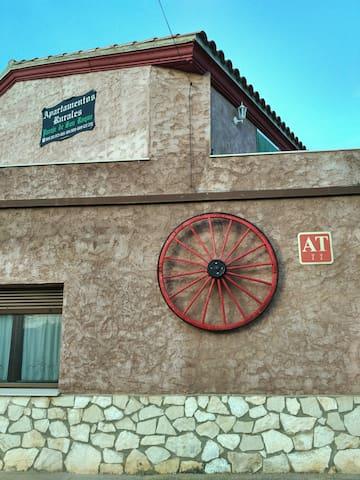Las Casitas de los Mata en Landete (Cuenca)
