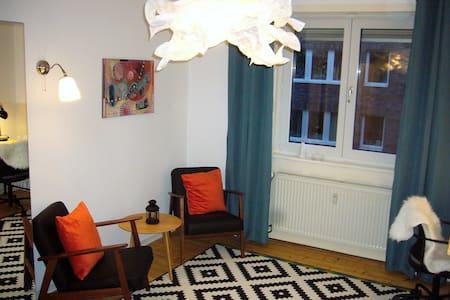 Gemütliches 1-Zi-Apartment in Nähe von SAP-Arena - Mannheim