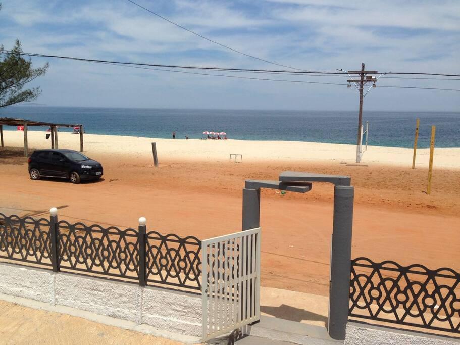 Portal do local, distância para a praia