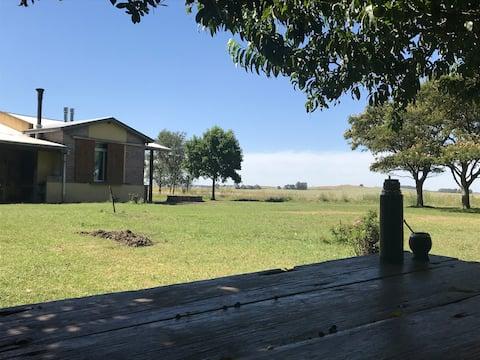 Casa en campo Balcarce huerta orgánica