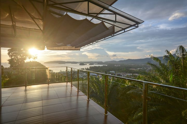 Krabi Mountain Top Villa - Tambon Ao Nang