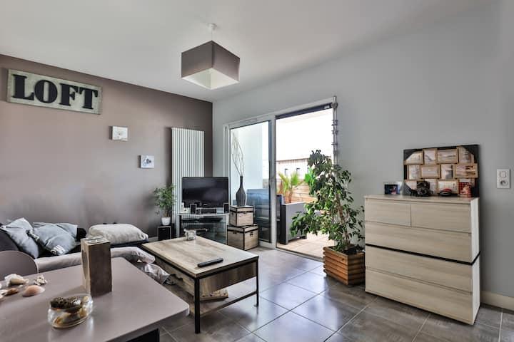 Appartement  proche centre-ville