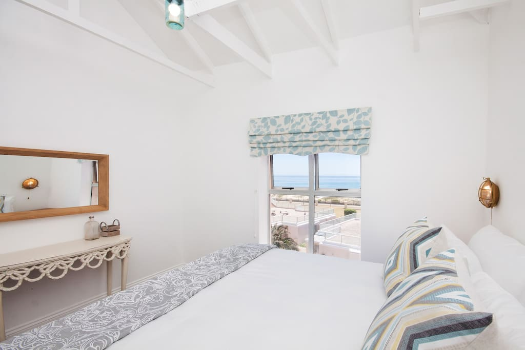 Luxurious Main bedroom with sea views and en-suite