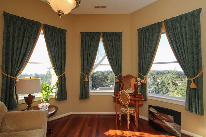 Spacious Suite in 5* B&B in Bodega Bay. - Bodega Bay - Bed & Breakfast