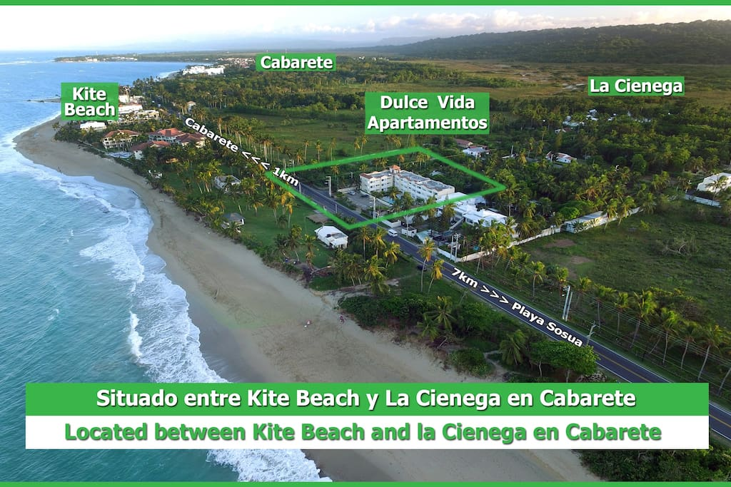 Distances from Cabarete and Sosua