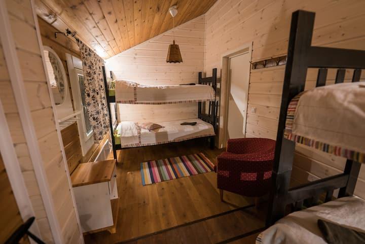 Giellajohka Quad room