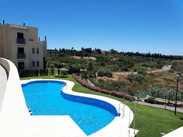 Cozy apartment between Marbella and Estepona.