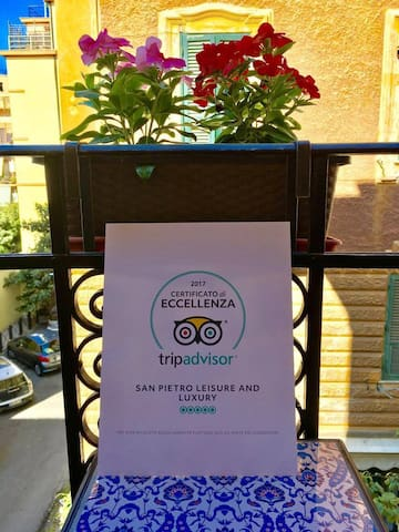Our TripAdvisor Certificate of Excellence!