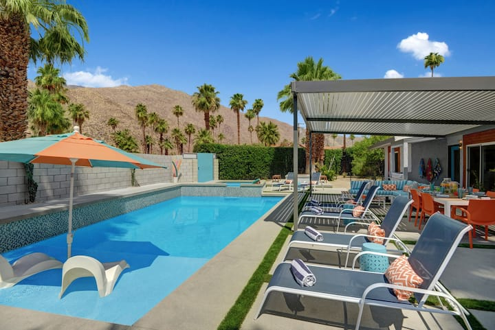 K0665 - Shelby Sands -  Private Resort-Like Pool Home Near all the Palm Springs Action