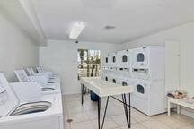 Laundromat in the Clubhouse