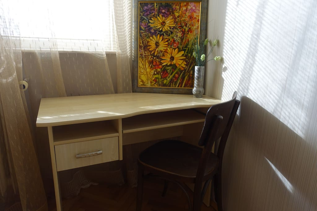 desk and chair for your convenience
