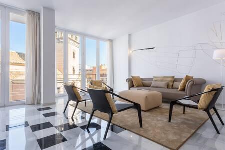 Avantgarde apartment for 4 in Sevilles city center - Sevilla - Wohnung