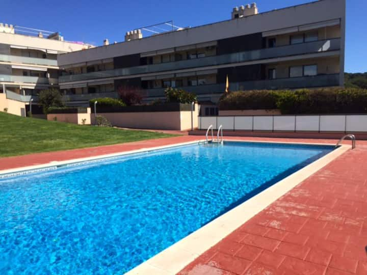 Appartement de luxe avec piscine près de Barcelone