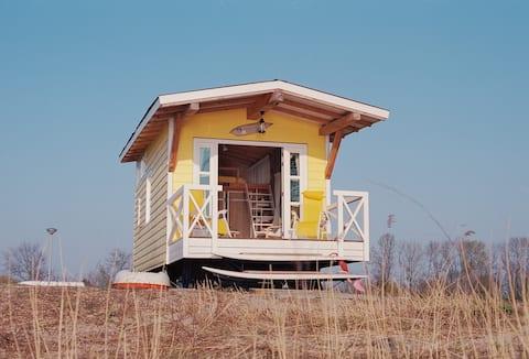 Tiny House Yellow Schoonhoven