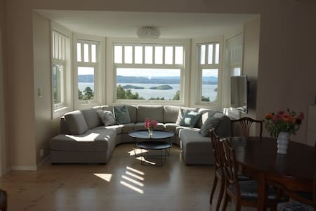 Central spacious 3 bed rooms best fjord view
