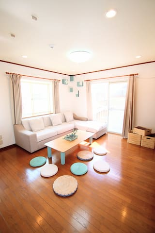 Private house near canal city(Up to 9/3 rooms)