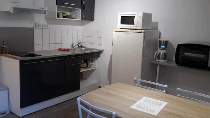 Petit appartement en duplex centre ville Briare