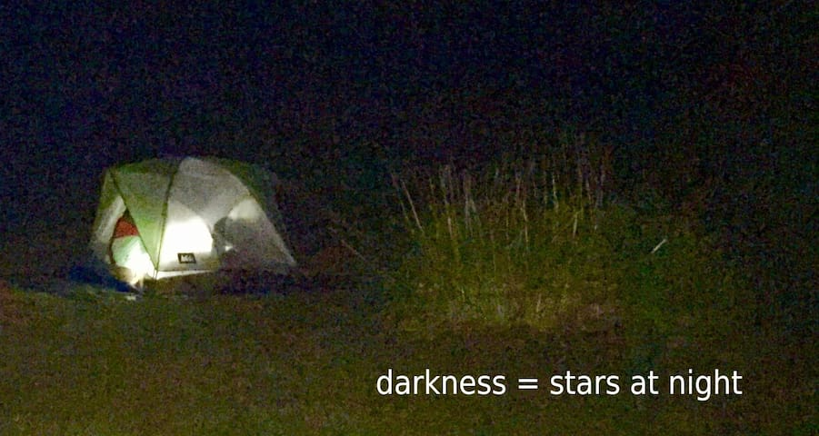 RV and Tent Site. RV et Tente.