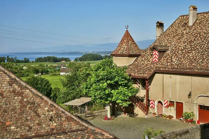 Une chambre vigneronne au Château!