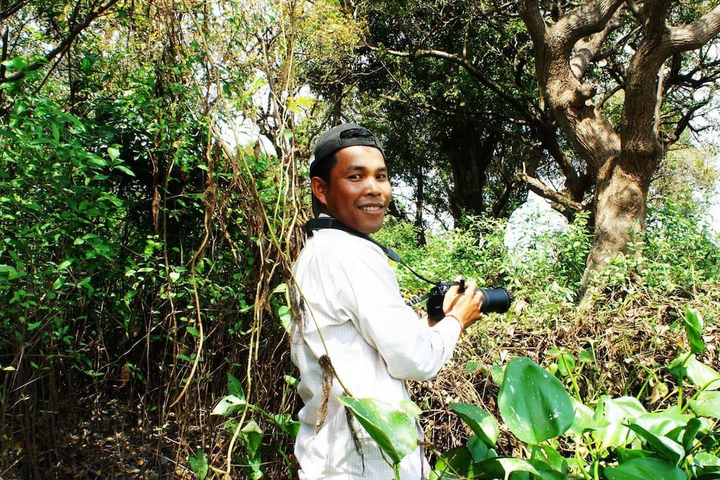 Tour to country side and make real life with khmer people