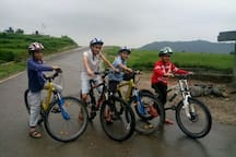 Mountain Bikes ( Firefox / Trek / Phoenix / Fuji....total 20 bikes ) available for rent