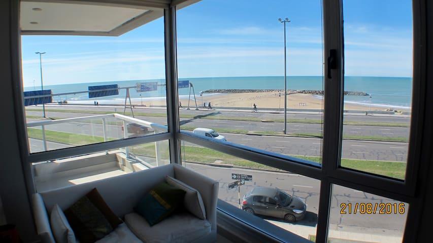 SEMIPISO 3 AMB- FRENTE AL MAR-MAR DEL PLATA - Mar del Plata - Apartment