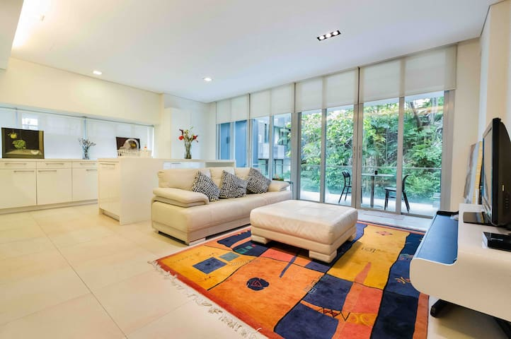 Green Luxury Home @ Orchard Road, Terrace 2BR