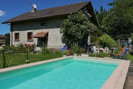 Entre lac Léman et Alpes, aux portes de Genève. - Douvaine - House