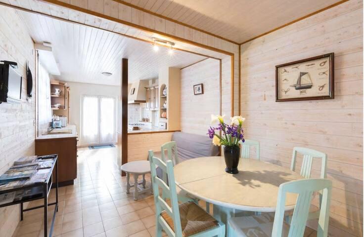 charmante maison a 800 belle plage du sillon