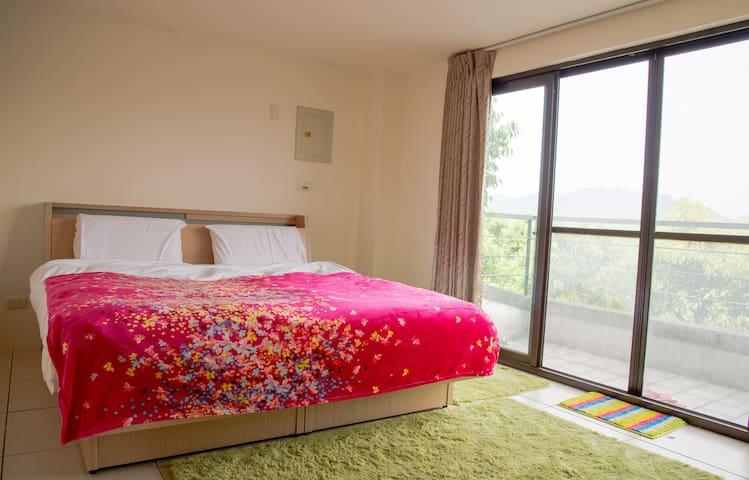 三義幸福小築民宿-幸福景觀雙人特別房 - Sanyi Township - House
