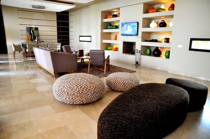 AL MAADEN - VILLA 4 CHAMBRES FRONT GOLF - Marrakesh - Apartment