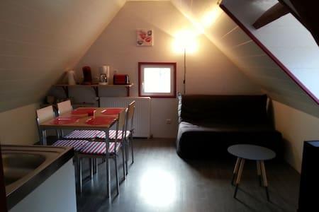 Le Nid, appartement 1 er étage, 15 mn de la mer - Avesnes-en-Val