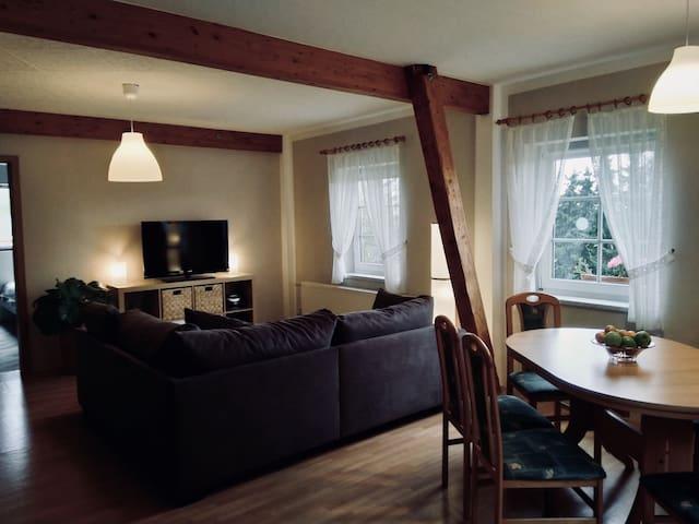 Gemütliches Zuhause in ruhiger Atmosphäre