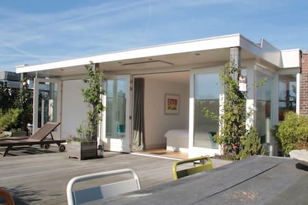 Luxurious Central Roof Terrace apartment with spa - Ámsterdam