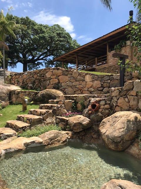 Casa de Campo no coração da Serra da Paulista