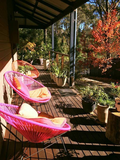 My super cool 2016 autumn veranda.