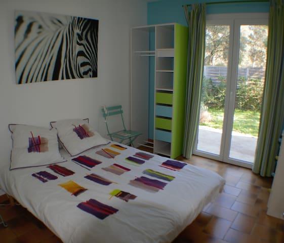 Chambre avec terrasse privative - Cabriès - บ้าน