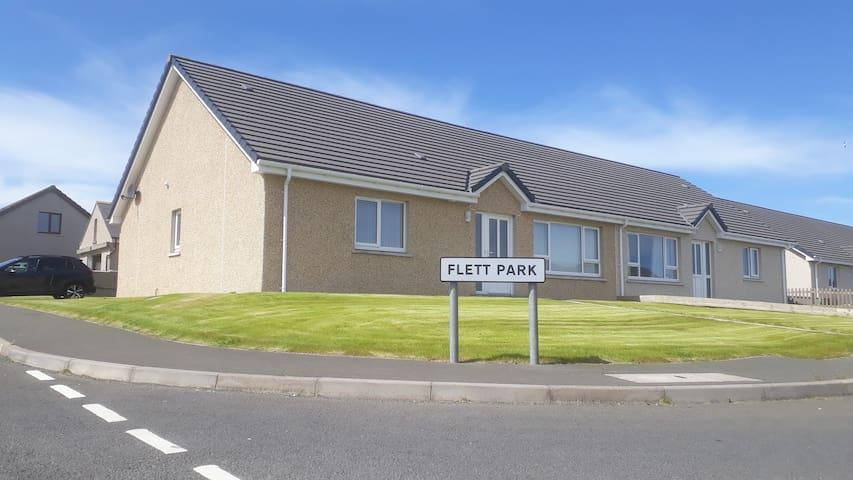 Flett Park - comfortable, modern home in Kirkwall