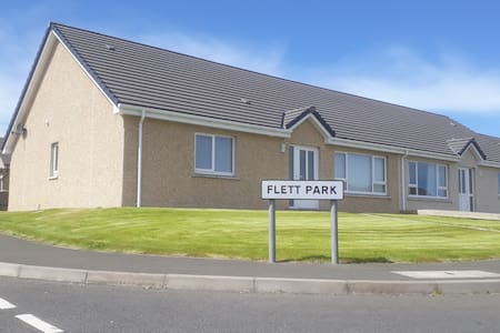 Flett Park - comfortable, modern home in Kirkwall