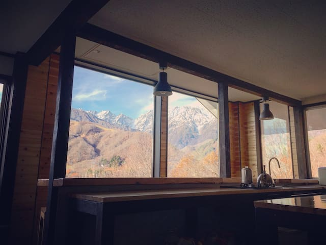 King/Twin|Kamoshika Views|Free Shuttles|Best Views - Hakuba-mura