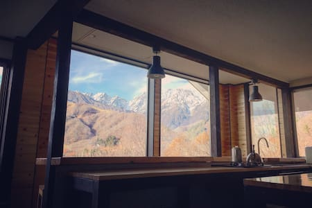 King/Twin|Kamoshika Views|Free Shuttles|Best Views - Hakuba-mura - Boomhut